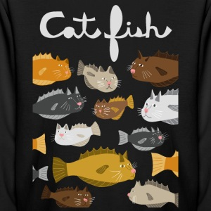 cat fish Kids' Shirts - Kids' Long Sleeve T-Shirt