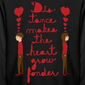 distance makes the heart grow fonder  Kids' Shirts - Kids' Long Sleeve T-Shirt