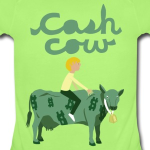 cash cow Baby & Toddler Shirts - Short Sleeve Baby Bodysuit