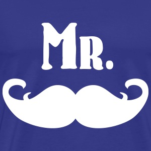 Mr. Mustache T-Shirts - Men's Premium T-Shirt