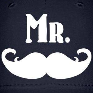 Mr. Mustache Caps - Baseball Cap