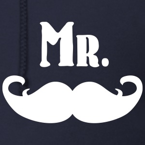 Mr. Mustache Zip Hoodies & Jackets - Men's Zip Hoodie