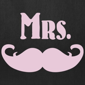 Mrs. Mustache Bags & backpacks - Tote Bag