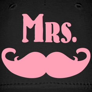Mrs. Mustache Caps - Baseball Cap