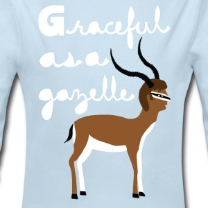graceful as a gazelle  Baby & Toddler Shirts - Long Sleeve Baby Bodysuit