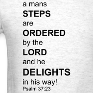 Design ~ Psalm 37:23 Power Shirt