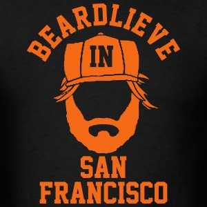 Beardlieve In San Fran T-Shirts - Men's T-Shirt
