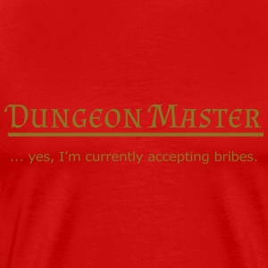 Dungeon Master: Bribes - Men's Premium T-Shirt