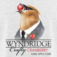 Design ~ Wyndridge Crafty Cranberry Cider - Men's Lt Gray T
