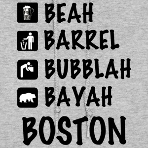 Funny Cute Boston Accent Dialect T-Shirt Shirts T Hoodies - Women's Hoodie