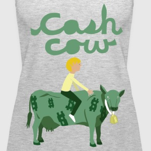 cash cow Tanks - Women's Premium Tank Top