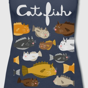 cat fish Tanks - Women's Premium Tank Top