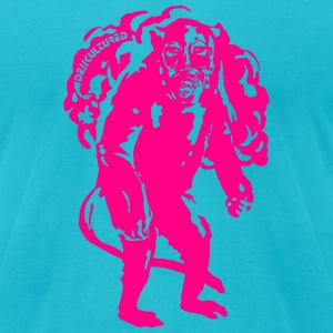De//Cultured - Baboon Apocalypse - Men's Tee - Neo - Men's T-Shirt by American Apparel