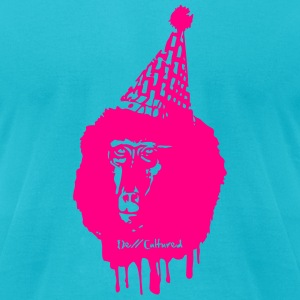 De//Cultured - Baboon Clown - Men's Tee - Neon Pin - Men's T-Shirt by American Apparel
