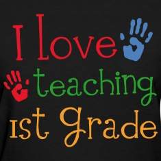1st Grade Teacher Cute Women's T-Shirts
