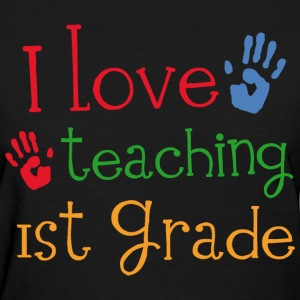 1st Grade Teacher Cute Women's T-Shirts - Women's T-Shirt