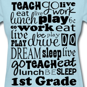 1st Grade Teacher Fun Women's T-Shirts - Women's T-Shirt