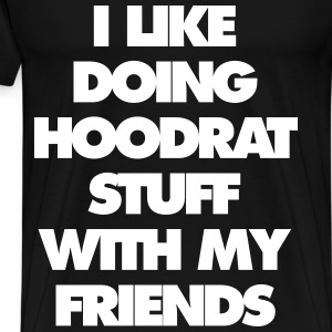 Hood Rat - Men's Premium T-Shirt