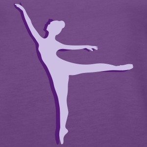 two Ballet dancer Tanks - Women's Premium Tank Top