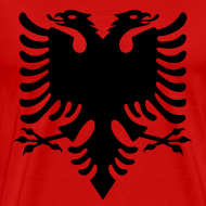 Design ~ flag of albania T-Shirts