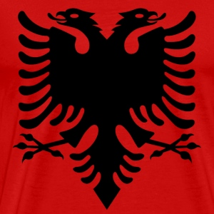 flag of albania T-Shirts - Men's Premium T-Shirt