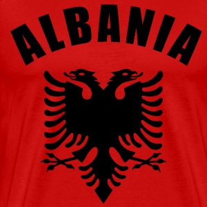 albania coat of arms T-Shirts - Men's Premium T-Shirt