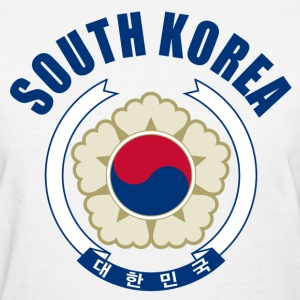 south korea coat of arms Women's T-Shirts - Women's T-Shirt