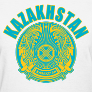 Design ~ kazakhstan coat of arms Women's T-Shirts