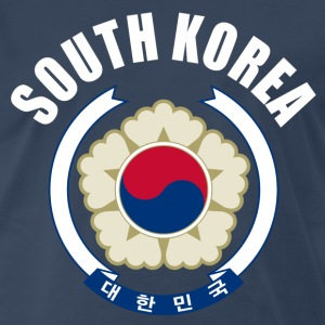 south korea coat of arms T-Shirts - Men's Premium T-Shirt