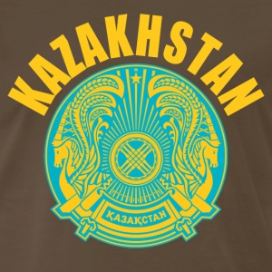 kazakhstan coat of arms T-Shirts - Men's Premium T-Shirt