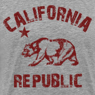 Design ~ california republic T-Shirts