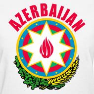 Design ~ Azerbaijan coat of arms Women's T-Shirts