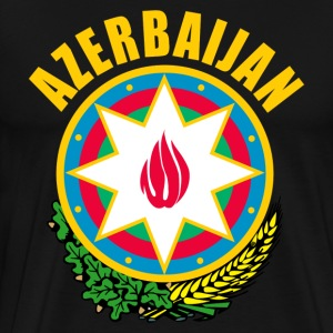 Azerbaijan coat of arms T-Shirts - Men's Premium T-Shirt