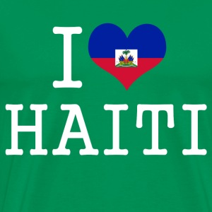 i love haiti T-Shirts - Men's Premium T-Shirt