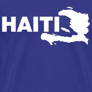 haiti map T-Shirts - Men's Premium T-Shirt