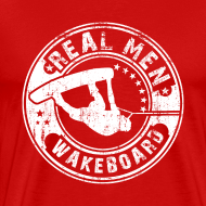 Design ~ real men wakeboard T-Shirts
