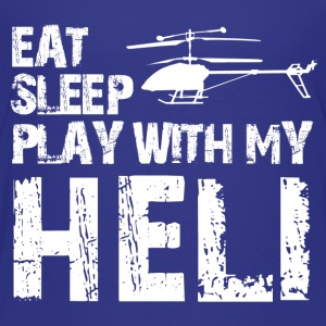 eat sleep play heli Kids' Shirts - Kids' Premium T-Shirt