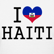 Design ~ i love haiti Women's T-Shirts