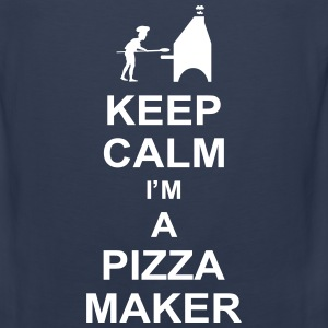 keep_calm_im_a_pizza_maker_g1 Men - Men's Premium Tank