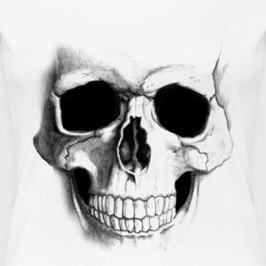 smile skull - Women's Premium T-Shirt