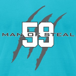 Man of Steal - Men's T-Shirt by American Apparel