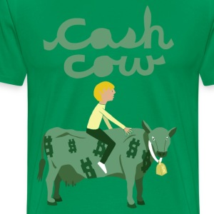 cash cow T-Shirts - Men's Premium T-Shirt