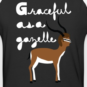 graceful as a gazelle  T-Shirts - Baseball T-Shirt