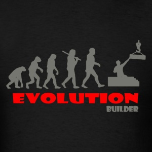 Builder ape of Evolution - Men's T-Shirt