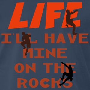 Rock Climbing Life - Men's Premium T-Shirt