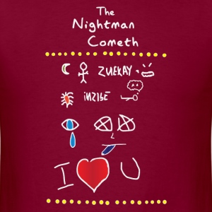 The Nightman Cometh-dark T-Shirts - Men's T-Shirt