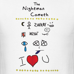The Nightman Cometh-light T-Shirts - Men's T-Shirt