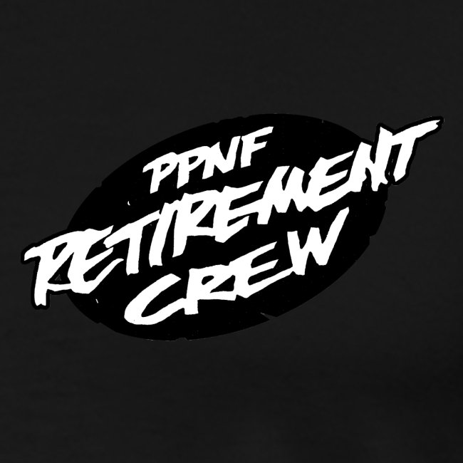 ppnf retrmnt crew front, ppnf logo back