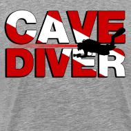 Design ~ cave diver T-Shirts