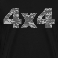 Design ~ 4x4 camouflage T-Shirts